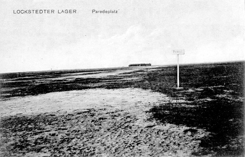Infizierte Landschaften - Postkarte Lockstedter Lager